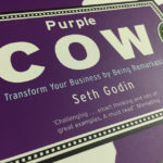 Cover of the Purple Cow. Gil Horsky lists inspirational books.