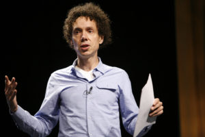 An image of Malcolm Gladwell. Gil Horsky lists his inspirations.